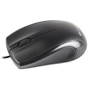 MU111 Мышь_25 Intro black USB (50/600)