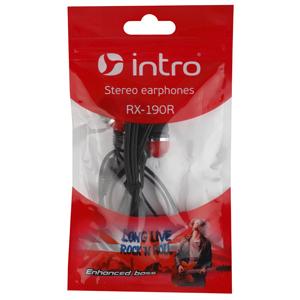 333461 Intro RX-190R вкладыши красные (500/10000)