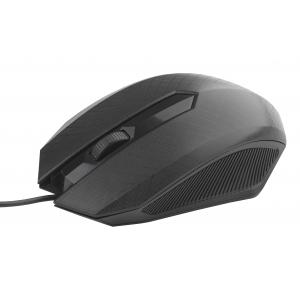 MU130 Мышь_25 Intro black USB (100/1200)